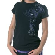 Maui Magic - Butterfly Tee - Moonless Night